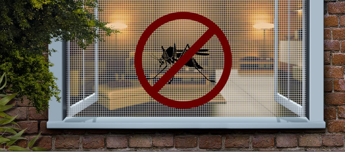 Сетка от комаров на окна