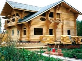 «Строим дом» : Время строить сруб!