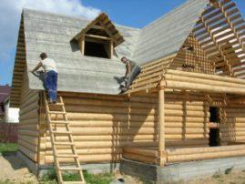 Строительство срубов бани, домов