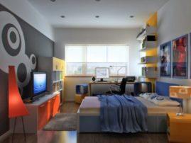 Оформление комнаты для молодого человека