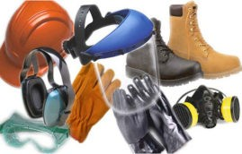 Чтобы обеспечить безопасный труд работников надо купить средства индивидуальной защиты