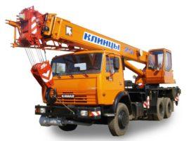 Автокран Клинцы 25 тонн — помощник в любом строительстве