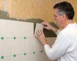 Укладка плитки в ванной комнате -как правильно?
