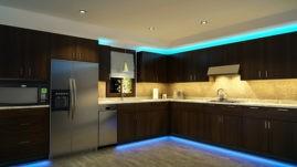 Светодиодная подсветка для мебели