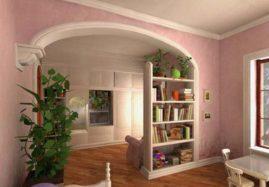 Арки в квартире являются очень привлекательным элементом дизайна