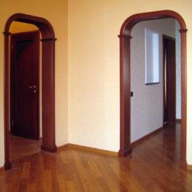 Установка арки в дверных проемах