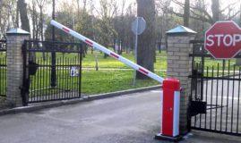 Устанавливаем автоматизированные ворота или шлагбаум