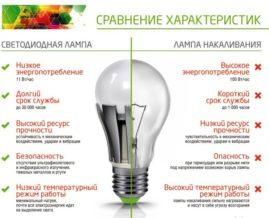Особенности эксплуатации и виды светодиодов