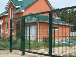 Панельные заборы: отличное заграждение в коттеджных поселках