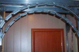 Внутренний металлический профиль для арки