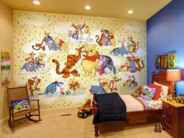 Какие обои лучше для детской комнаты