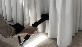 Что выбрать, химчистку штор на фабрике или чистку штор дома?