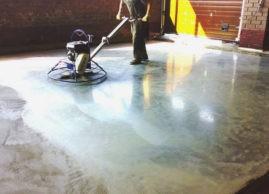 Способы укрепления поверхности бетонного пола