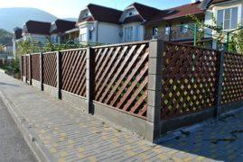 Забор как визитная карточка каждого дома