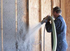 Теплоизоляция стен «мокрым способом»