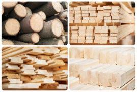 Деревянные стройматериалы для строительства домов