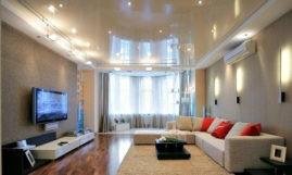 Отделка и оформление потолка