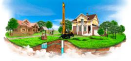 Бурение скважин и снабжение дома водой