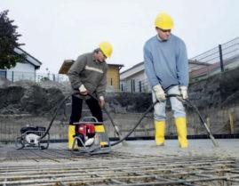 Вибраторы для бетонных работ