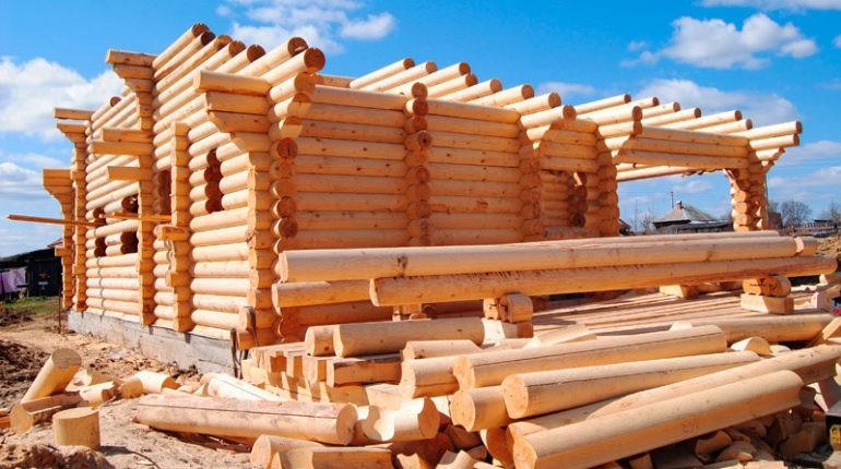 Оцилиндрованное бревно — новый современный материал для строительства
