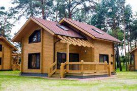Дома из бруса дерево. Брусовые дома характеристики