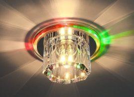 Точечные светильники для подвесных потолков