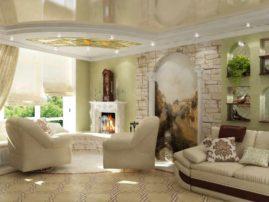 Ремонт квартир под ключ: украшаем интерьер фресками
