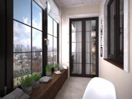 Высококлассные евроокна на балкон – залог уютной атмосферы и стильного интерьера
