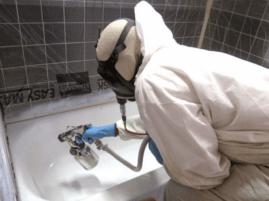 Самостоятельное восстановление эмали ванны