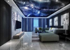 Звездное небо – натяжные потолки
