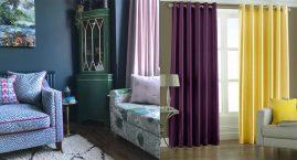 Модные шторы и портьеры для современной гостиной проверяют что жарко