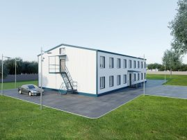 Особенности возведения модульных быстровозводимых зданий