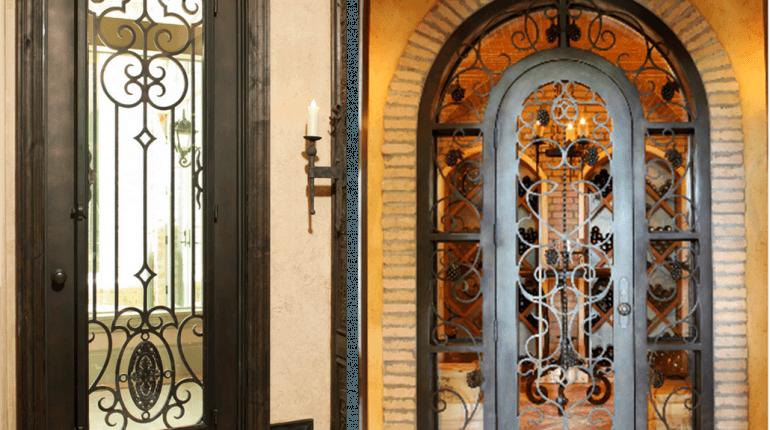 Оригинальные и кованые двери